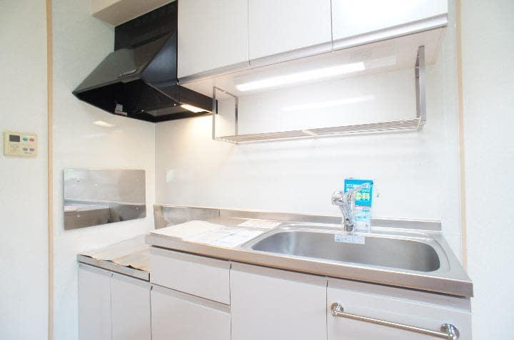 グランシェーヌ 02020号室のキッチン