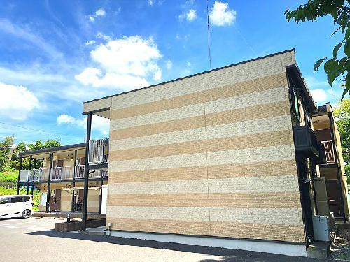 レオパレスパークサイド 202号室の外観