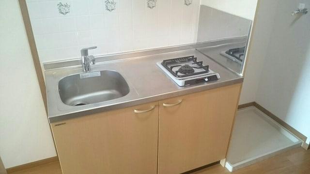 ベルウッドS 02040号室のキッチン