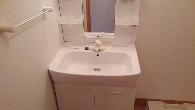 ポルト・エスポワ-ル 01020号室の洗面所