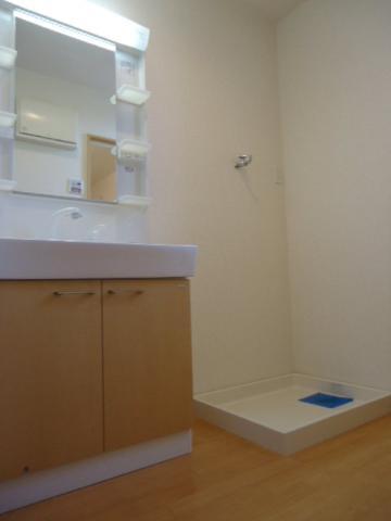 エバーハイム 205号室の洗面所