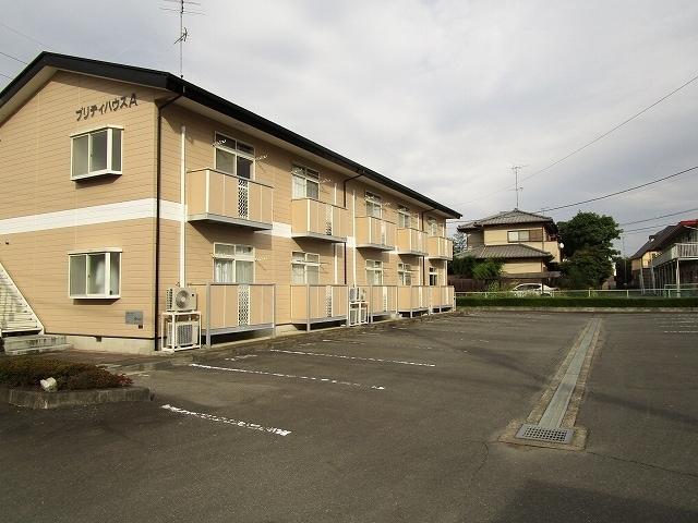 プリティハウスA 02040号室の駐車場