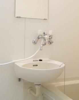 プリティハウスA 02040号室の洗面所