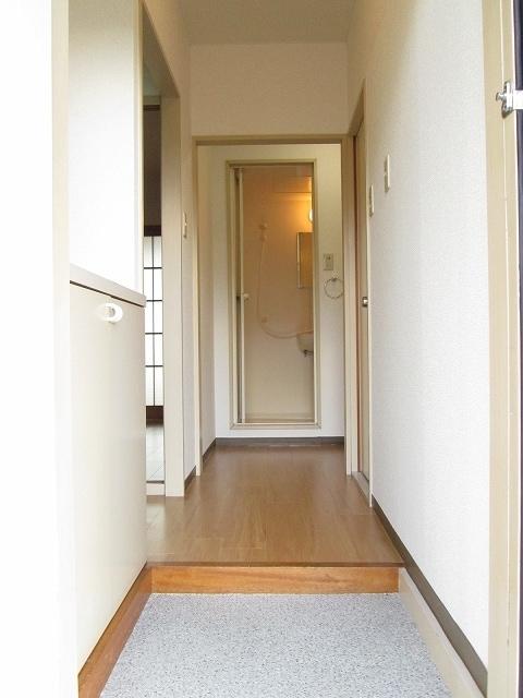 プリティハウスA 02040号室の玄関