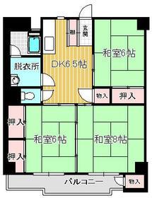宏南コーポ 204号室間取り図