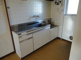 宏南コーポ 204号室のキッチン