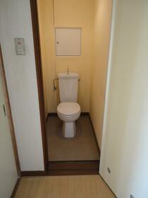 宏南コーポ 204号室のトイレ