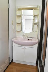 コーポ下林 201号室の洗面所