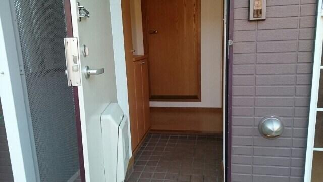 カボティーヌ 01030号室の玄関