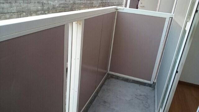 カボティーヌ 01030号室のバルコニー