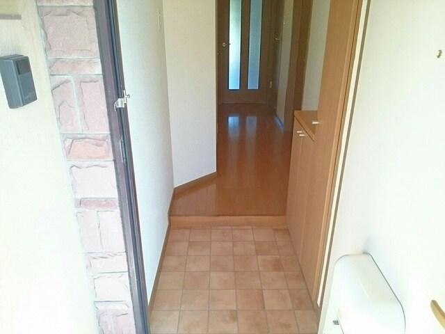 カイラス・ドルフ 01040号室の玄関