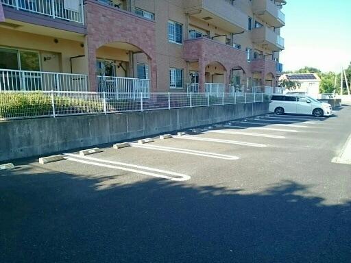カイラス・ドルフ 01040号室の駐車場