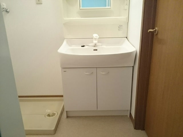 カイラス・ドルフ 01040号室の洗面所