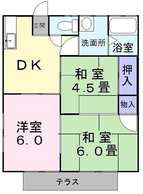 ニュ-弥生坂マンション・01030号室の間取り