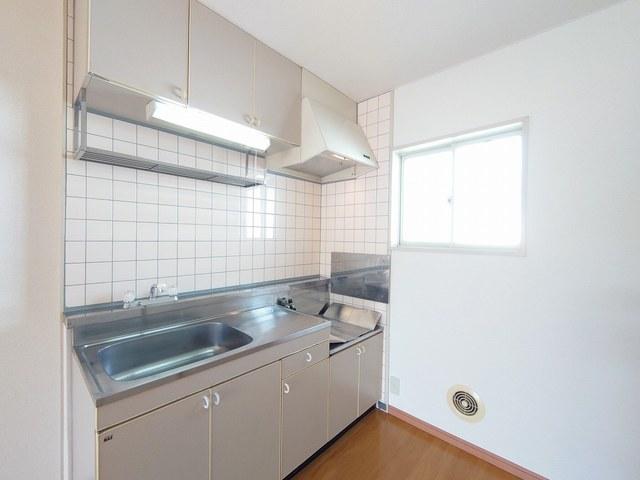 リバーカーム 02010号室のキッチン