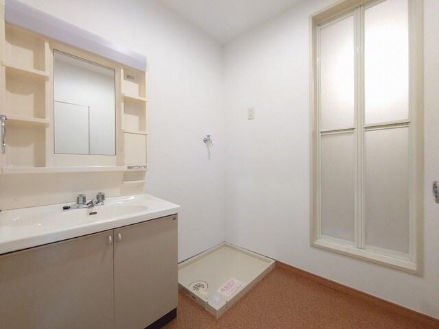 リバーカーム 02010号室の洗面所