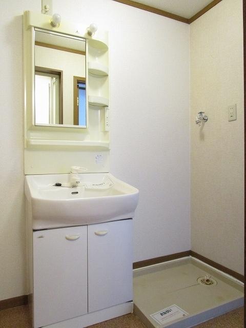 クレストール カーサ 02010号室の洗面所