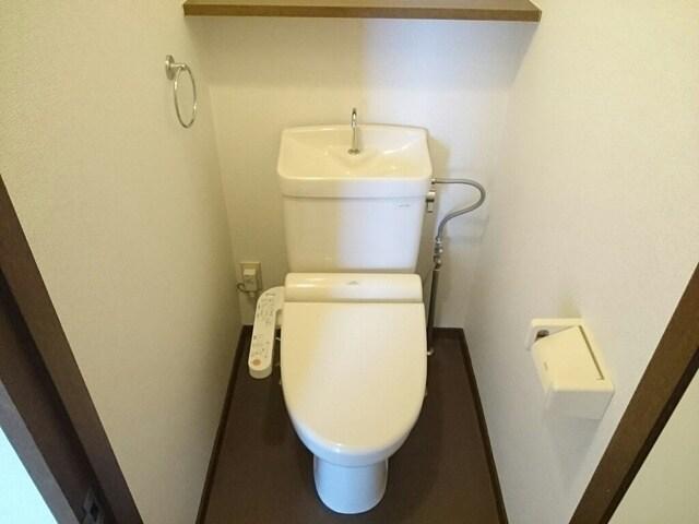 グレースフル 02020号室のトイレ
