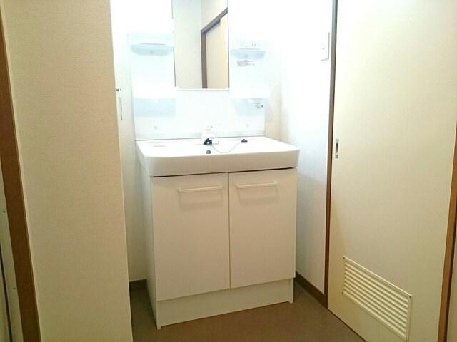 グレースフル 02020号室の洗面所