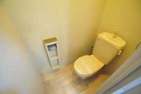 グリーンシャルマン 203号室のトイレ