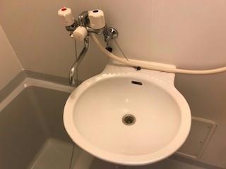 レオパレスHARU B 101号室の洗面所