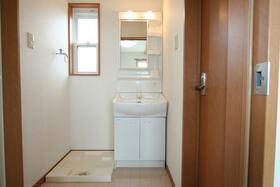 フレンズハウス日立金沢の洗面所