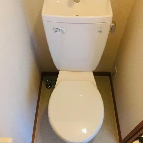 レオパレスサーフサイドダイゴ 202号室のトイレ