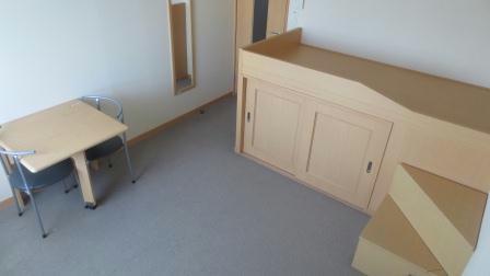 レオネクストサーフサイド海誠 201号室のリビング