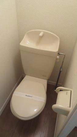 レオパレスボヌールエスパースE 102号室のトイレ