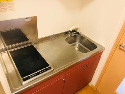 レオネクストサーフサイド海誠 202号室のキッチン