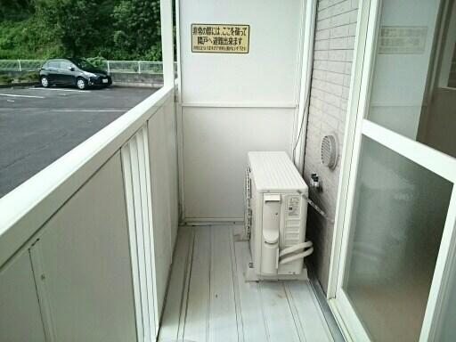 さくらんぼハイツ 01030号室のバルコニー
