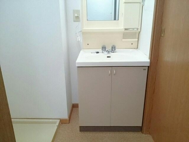 さくらんぼハイツ 01030号室の洗面所