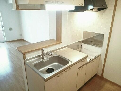 シルフィ 01010号室のキッチン