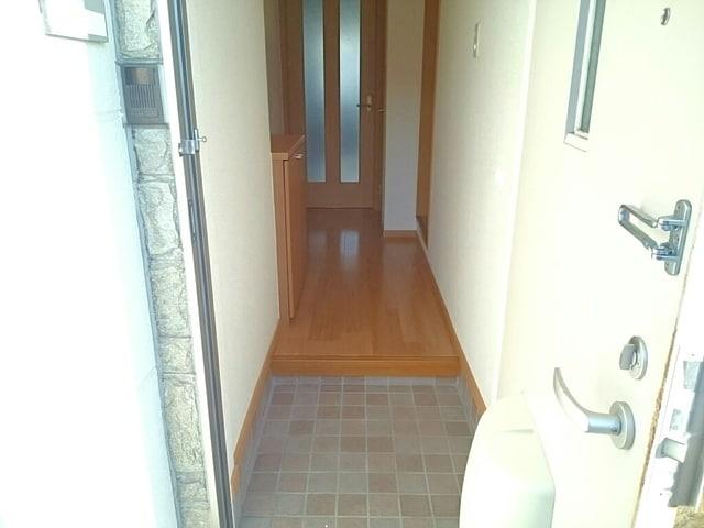 シルフィ 01010号室の玄関