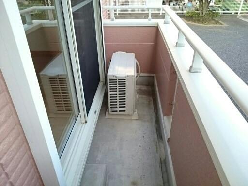 シルフィ 01010号室のバルコニー