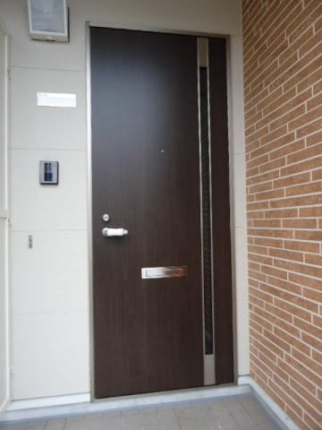 North Villa 201号室のエントランス
