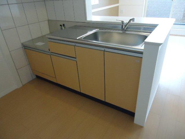 North Villa 201号室のキッチン