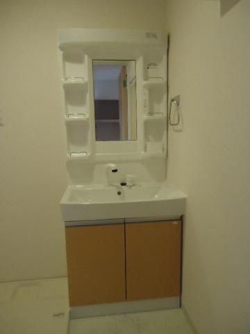 North Villa 201号室の洗面所