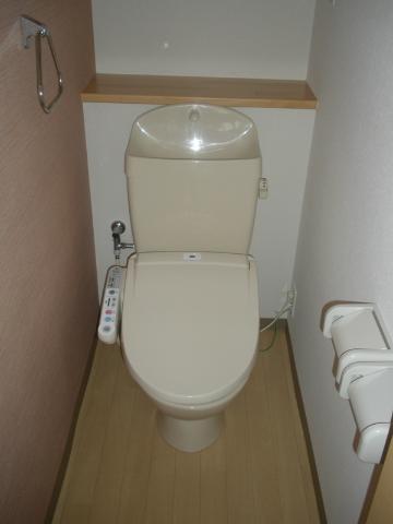 フォンテーヌ 202号室のトイレ