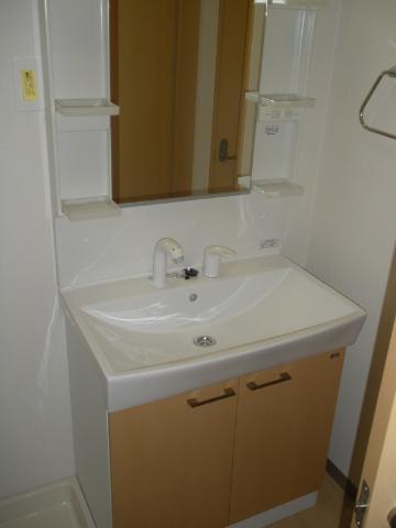 フォンテーヌ 202号室の洗面所
