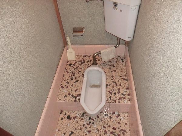 林荘 2-2号室のトイレ