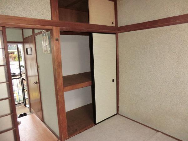 林荘 2-2号室の収納