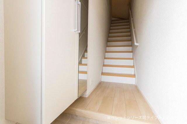 シエルⅠ 02020号室の玄関