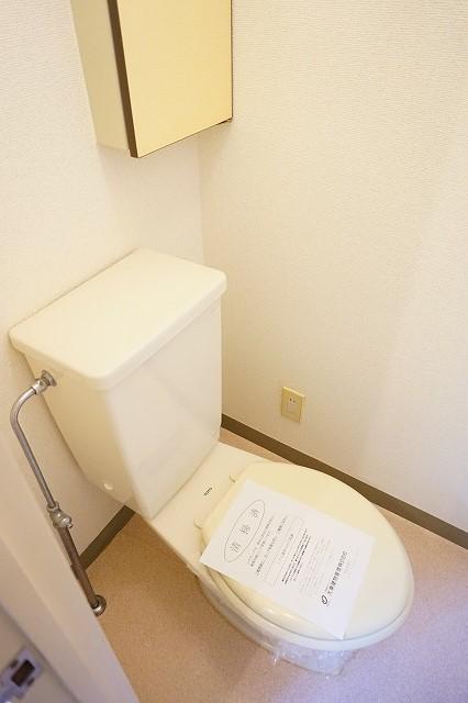 マリッチ高嶋 02040号室のトイレ