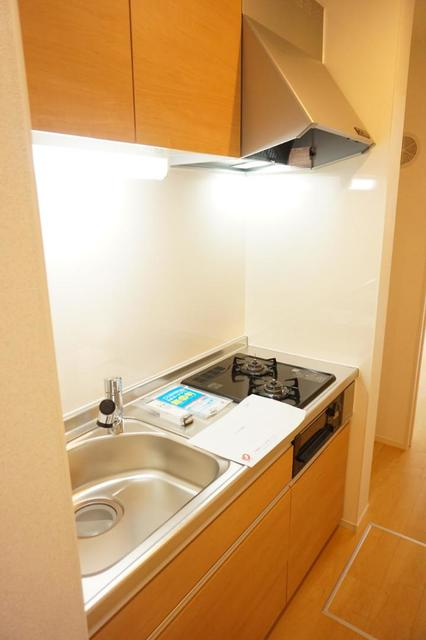 ディアコート 宮脇 01020号室のキッチン