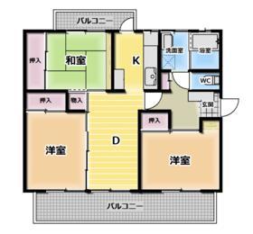 京都東山403棟・34号室の間取り