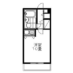 朝日プラザアーバンコア高松Ⅱ・304号室の間取り
