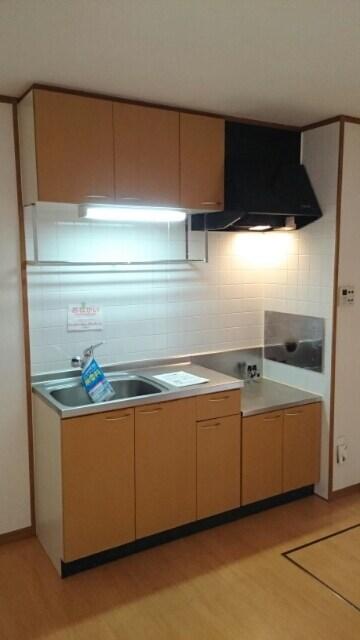 エスト・モンターニュ 01020号室のキッチン
