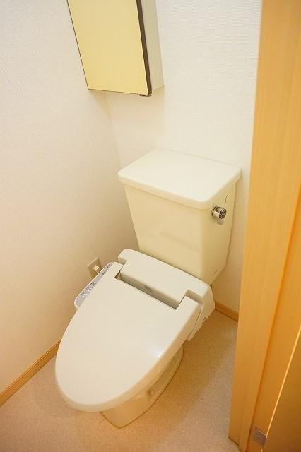 マリッチ高嶋 02060号室のトイレ