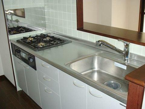 WIZARD 05010号室のキッチン